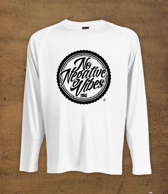 NNV Circle - White Long Sleeve