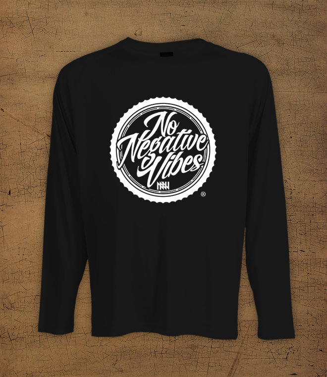 NNV Circle - Black Long Sleeve