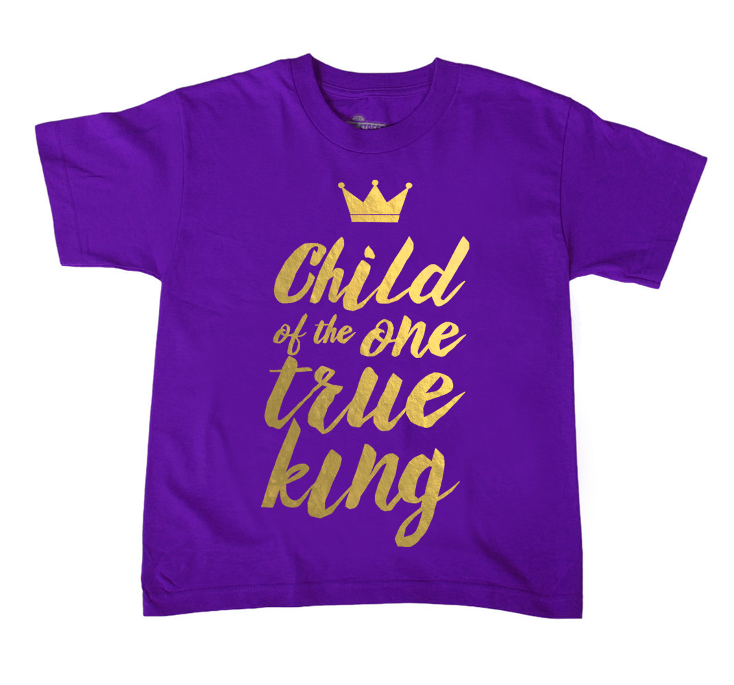 True King - Gold Foil