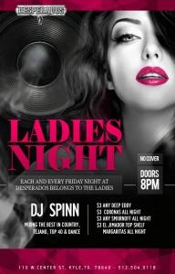 Ladies Night 3 Desperados copy