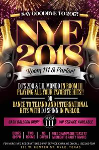 room 111 2018 - 2